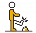 incident complaint reporting icon six